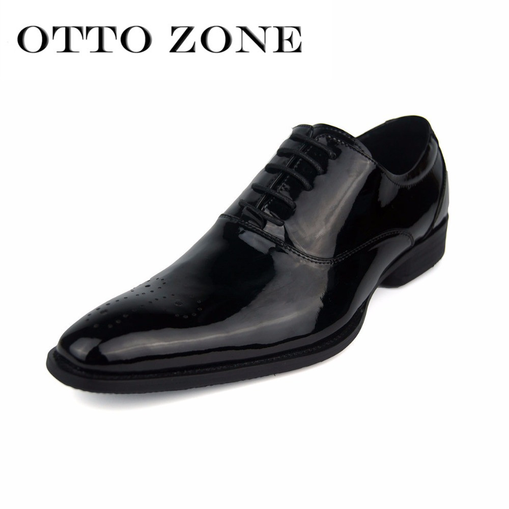 Reasonable Otto Zone Italian Designer Oxford Vintage Dress Shoes Brand Genuine Leather Men Basic Casual Shoes Male Business Wedding Shoes Basic Boots Men's Shoes