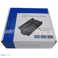 20A 5 ערוץ לתכנות LED זמן בקר TC420 DC12-24V, האנודה נפוצה בקר טיימר פונקציה רב עבור LED רצועת אור