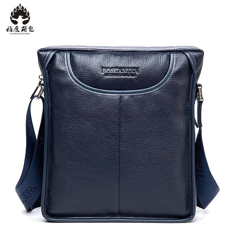 2018 Genuine Leather Men Messenger Bags Business Leather Laptop Bag Men Bag Men's Briefcase Tote Travel Shoulder Laptop Bag redfox сумка full size business messenger 1000 черный