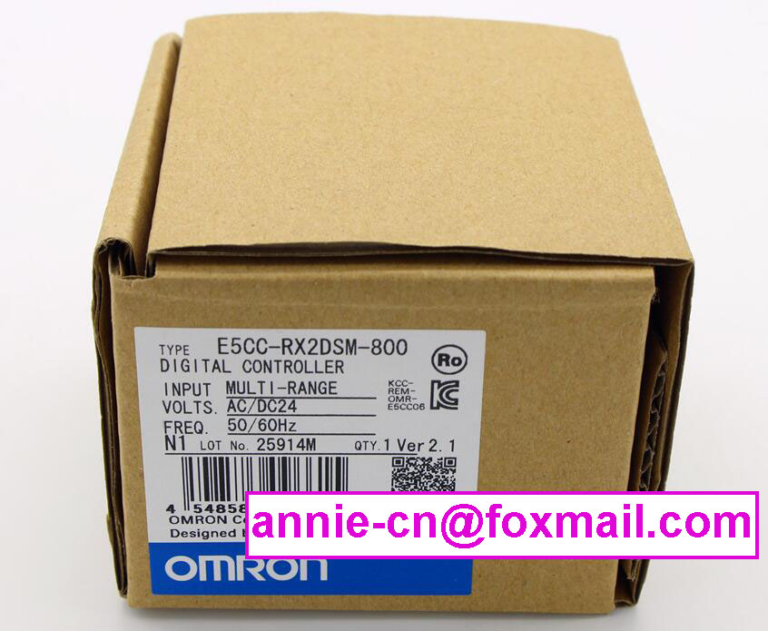 ФОТО New and original E5CC-RX2DSM-800 OMRON Digital Controller AC/DC24