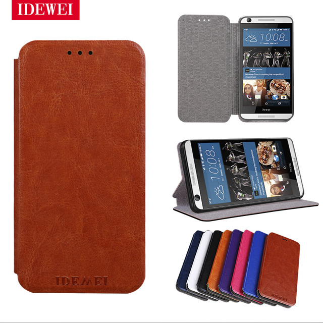 Flip Leather silicone Capa For coque HTC Desire 626 Case back skin stand pouch For HTC 626 D626 626w 626d 626g 626s cover fundas