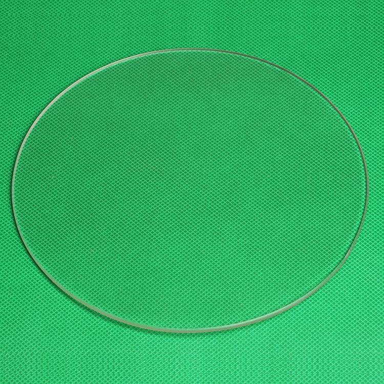 Funssor 3mm thickness 3D printer Round Shape borosilicate glass plate Diameter 170mm/180mm/200mm/220mm/240MM/260mm/ 300mm/410MM mini 3d printer borosilicate glass plate 170mm 3mm thick boro glass top for rostock delta kossel