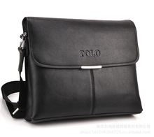 The new men's shoulder bag Messenger bag business men's casual version of the briefcase quality POLO retro quality