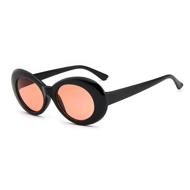 boutique officielle achat spécial collection entière € 2.7 40% de réduction|2019 Hot NIRVANA Kurt Cobain lunettes de soleil  femmes hommes mode femme mâle lunettes de soleil lunettes ovales UV400 noir  ...