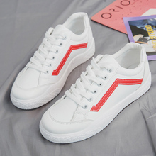 hot deal buy 2019 spring white shoes woman casual shoes female sneakers women canvas shoes fashion flats shoes zapatillas mujer casual
