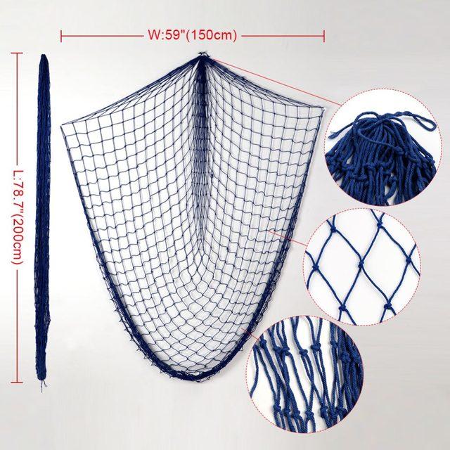 Tienda Online Ourwarm telón Redes de pesca playa-temática rústica ...