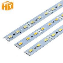 5630 LED Dura Striscia Rigida di Alta Luminosità DC12V 36LEDs/50 centimetri HA CONDOTTO LA Luce Bar Per La Cucina Under Cabinet vetrina 10 pz/lotto