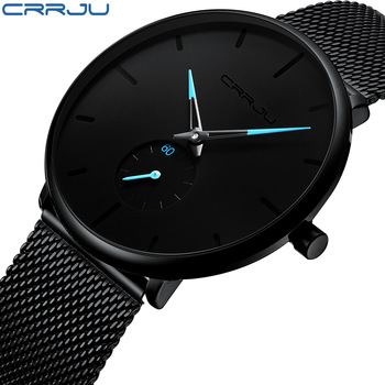 Fashion Top Brand Luxury Quartz Casual Slim Steel Waterproof Sport Watch