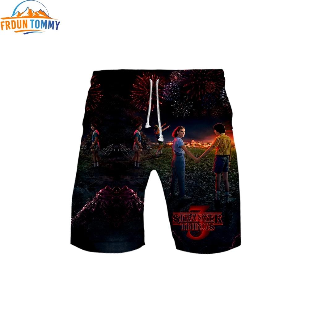 2019 3d Print New Summer Boys Short Pants Stranger Things Baby Boy Jogger Hip Hop Hot Selling Customized Short Pants