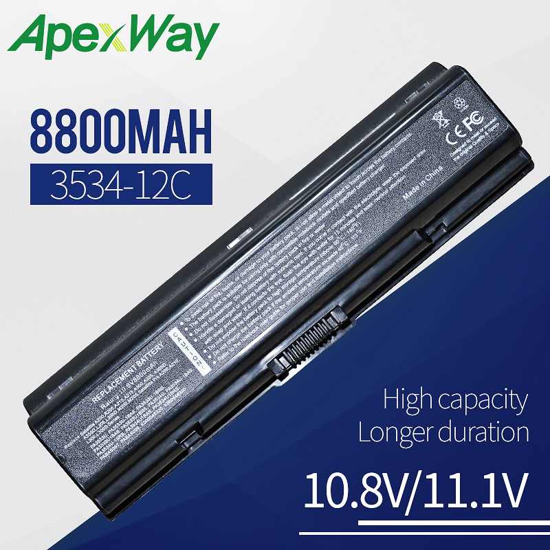 8800mAh Laptop Battery For TOSHIBA Satellite PA3534U 1BRS A305D A350 A350D A355 A355D A500 A500D A505 A505D L200 L300 L300D L305