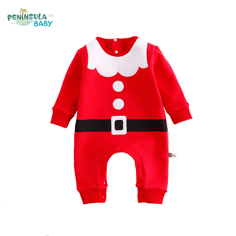 0dd826409482 Buy Baby Rompers Autumn Cotton Long Sleeve Newborn Baby Christmas ...