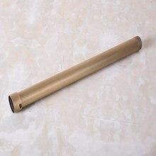 Ванная аксессуары антиквариат латунь 320 мм удлинитель трубка трубка стержень набор для дождя душа смеситель набор +% 28G3% 2F4% 22 соединение% 29 aba701