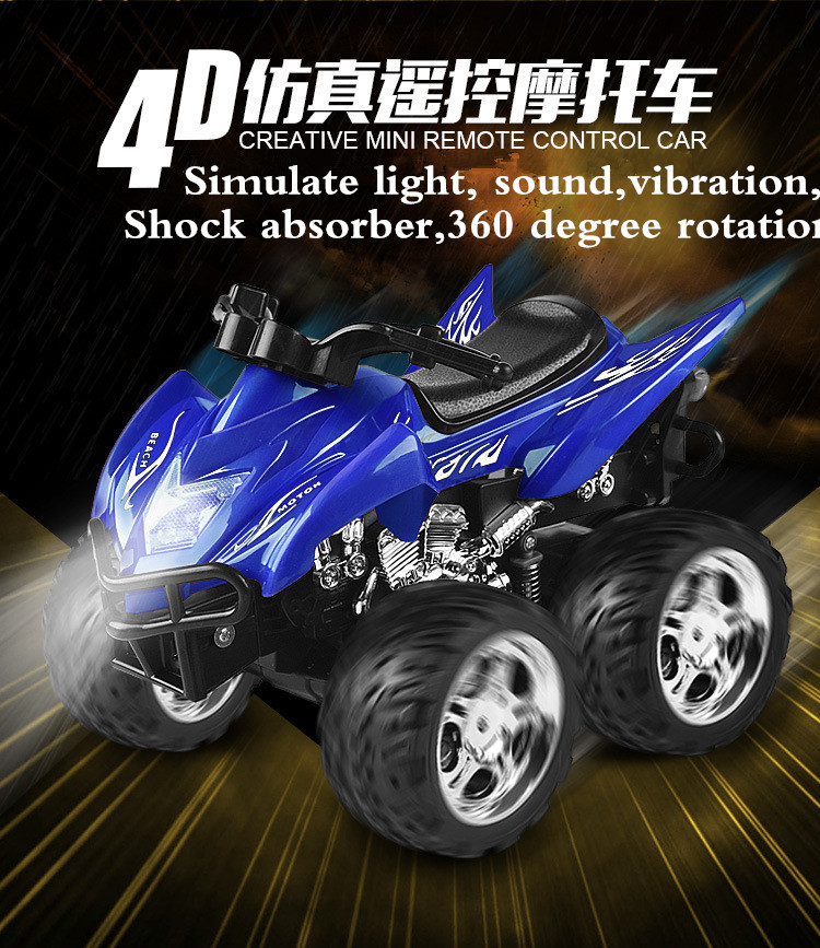 Hot sell A6 4D Gravity induction RC Remote Control Motorcycle Electronic Toy Cars Rechargeable Drift Dumpers Promotional Gifts hot sell a6 4d gravity induction rc remote control motorcycle electronic toy cars rechargeable drift dumpers promotional gifts