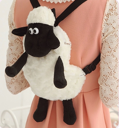2016-Hot-Cartoon-Shaun-The-Sheep-Plush-Backpacks-Kawaii-25cm-30cm-Stuffed-Animal-Sheep-Shaun-Plush-Toys-for-Children-School-Bags-1