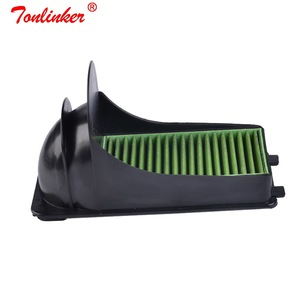 Image 3 - 2Pcs Air Carbon Filter For Volkswagen POLO 2009 2019/Skoda Fabia Rapid Roomster Model 2007 2018 2019 External Filter Assemblies