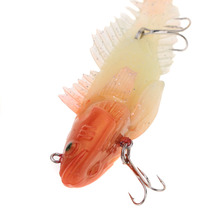 Luminous and Colored Lifelike Soft Baits with Long T-Tail – 2pcs