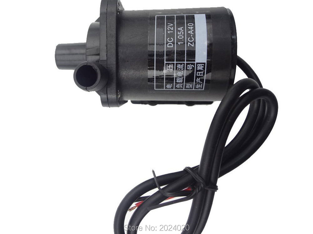 12V DC Brushless Pump Micro, Circulation system, hot water pump dc 12v 1a powerful micro brushless magnetic amphibious appliance water pump