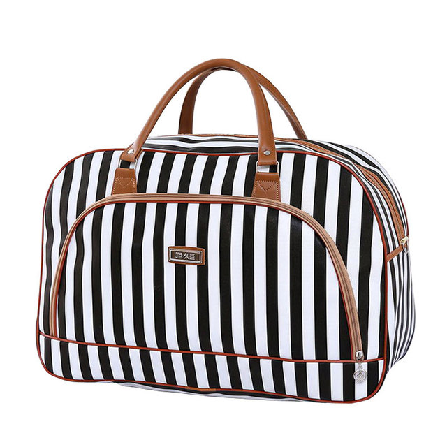 b429d5a0e Women Travel Bags Fashion Pu Leather Large Capacity Waterproof Print  Luggage Duffle Bag Casual Travel Handbag Shoulder Bag
