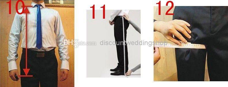 Naujausias dizainas Vyriški vakarienė Vakarėlių kostiumai - Vyriški drabužiai - Nuotrauka 6