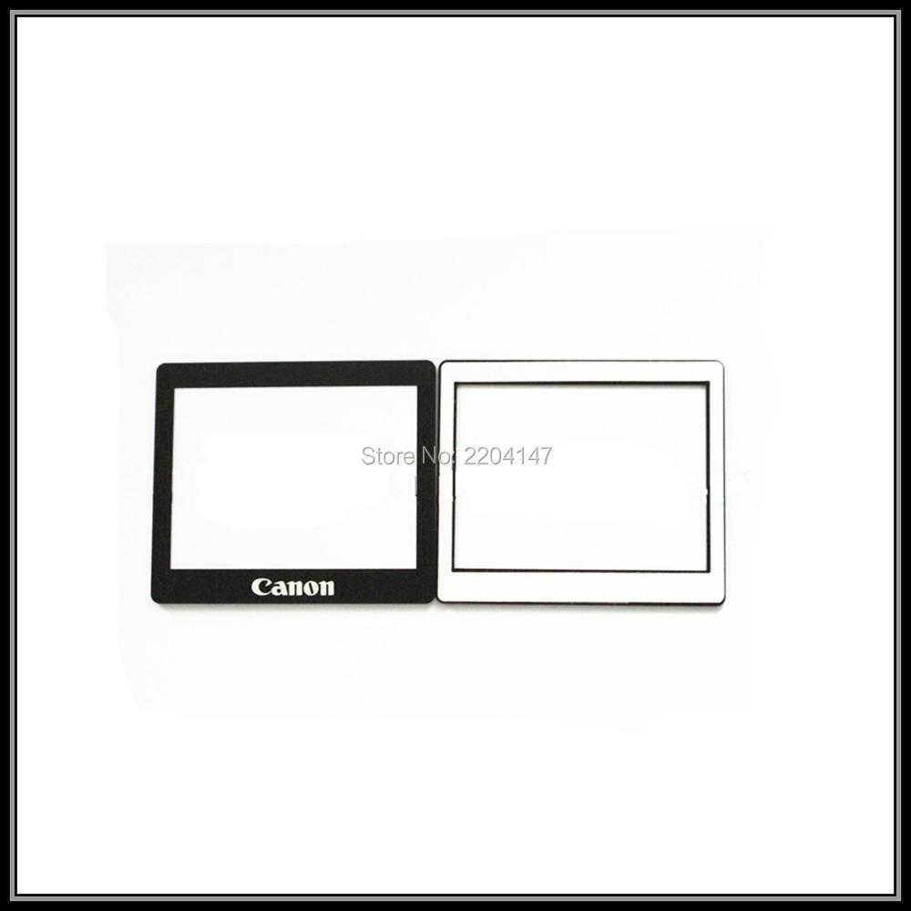 Nueva pantalla LCD de visualización de la ventana (Acrílico) vidrio exterior para Canon EOS 400d Rebel XTi Kiss x digital Screen protector + Cintas