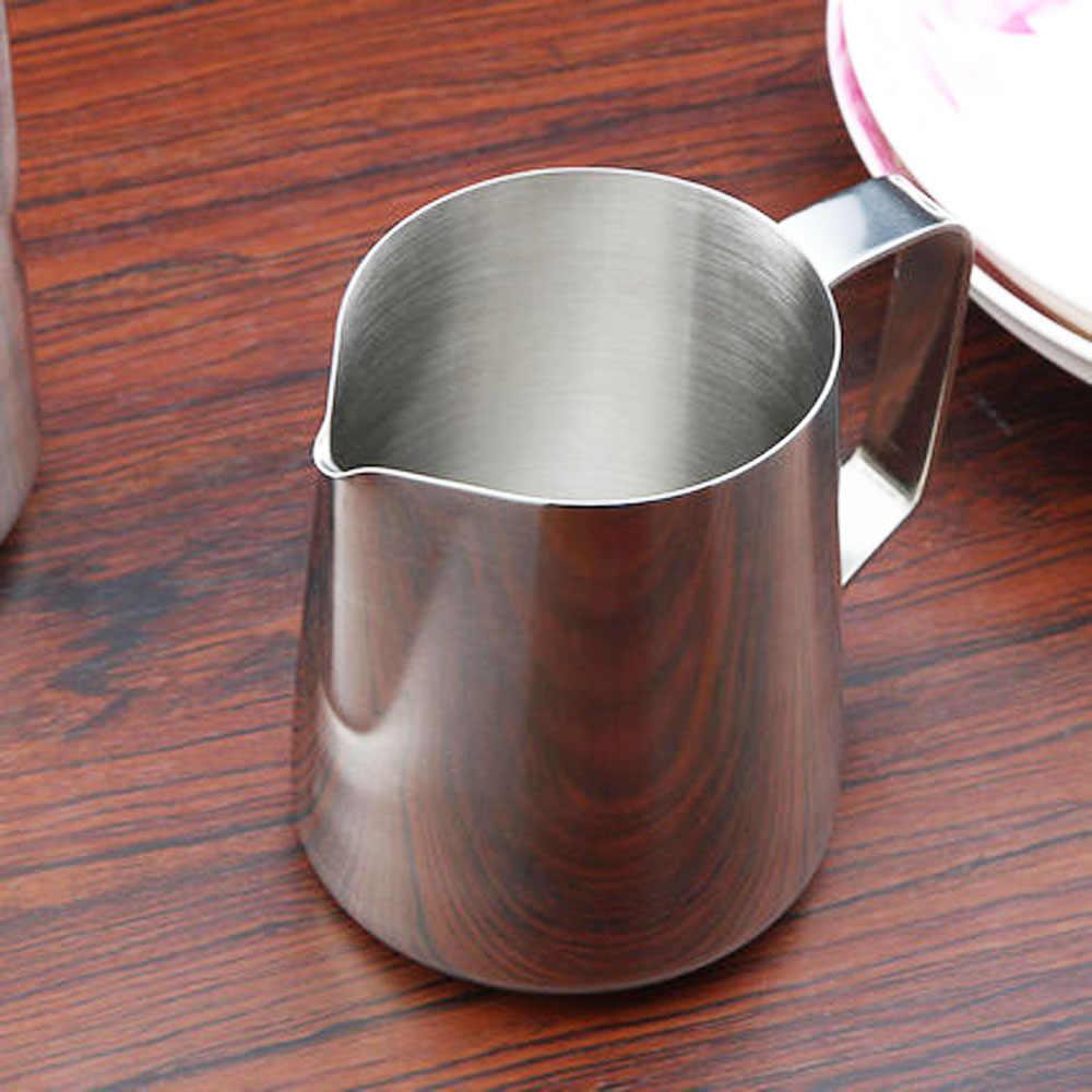 150 ml Stainless Steel Susu Latte Art Pitcher Buih Kendi Barista Espresso Cangkir Kopi Kerajinan alat Kopi Cappuccino Cangkir Pot