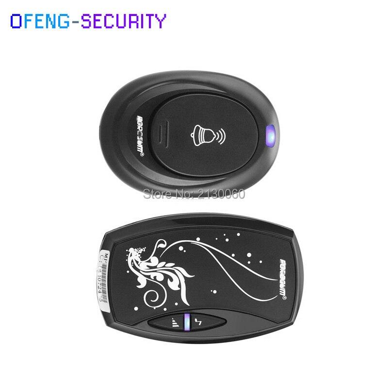 Door Bell with 36 Chimes EU Plug Single Receiver Waterproof Plug-in Type Wireless Doorbell Cordless Smart Door Bells Doorbells