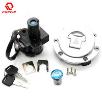 Motorcycle Ignition Switch Lock Fuel Gas Cap Lock And Seat Lock With Keys For Honda CBR600 CBR 600 F2 F 2 F3 F 3 1991 1998