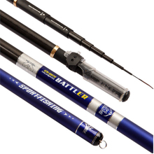 Telescopic 60 Tonal 5.4m/6.3m/7.2m Carp Taiwan Stream Rod SuperHard Portable Braided Top Ultra Light Power Hand