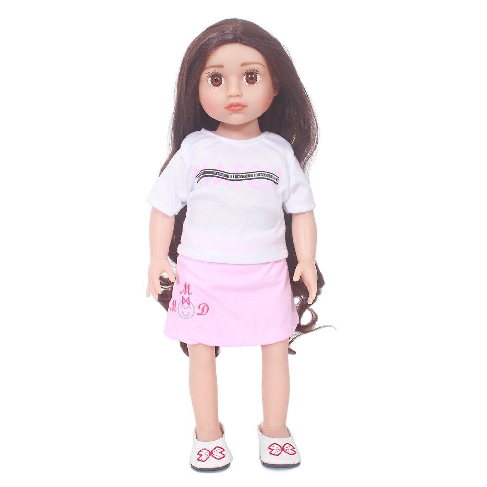 22 ''bebe fille renaître vivant bonecas haute qualité reborn bébé poupée corps entier en Silicone avec mode princesse robe cadeau chid