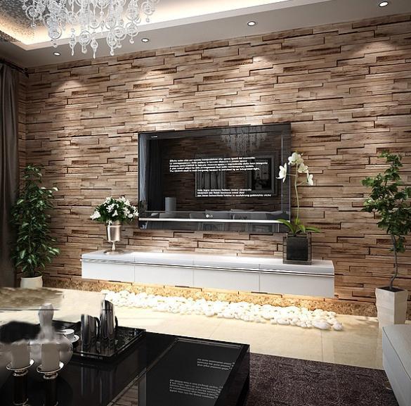 Moderne Tapete-kaufen Billigmoderne Tapete Partien Aus China ... Tapetenmuster Wohnzimmer Modern