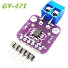 10pcs/lot GY-471 3A Range Current Sensor Module Professional MAX471 Module For arduino