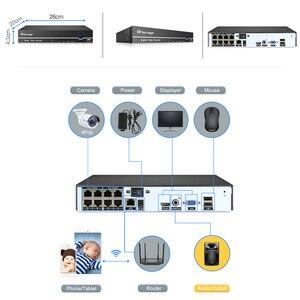 Image 2 - Techage H.265 8CH 1080 P système de sécurité CCTV 2.0MP POE NVR Kit dôme Audio intérieur caméra IP POE P2P ONVIF ensemble de Surveillance vidéo