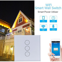 HOT Smart WIFI Light Switch Remote Alexa Google Home Voice Control Smart Life Novelty Lighting Accessories