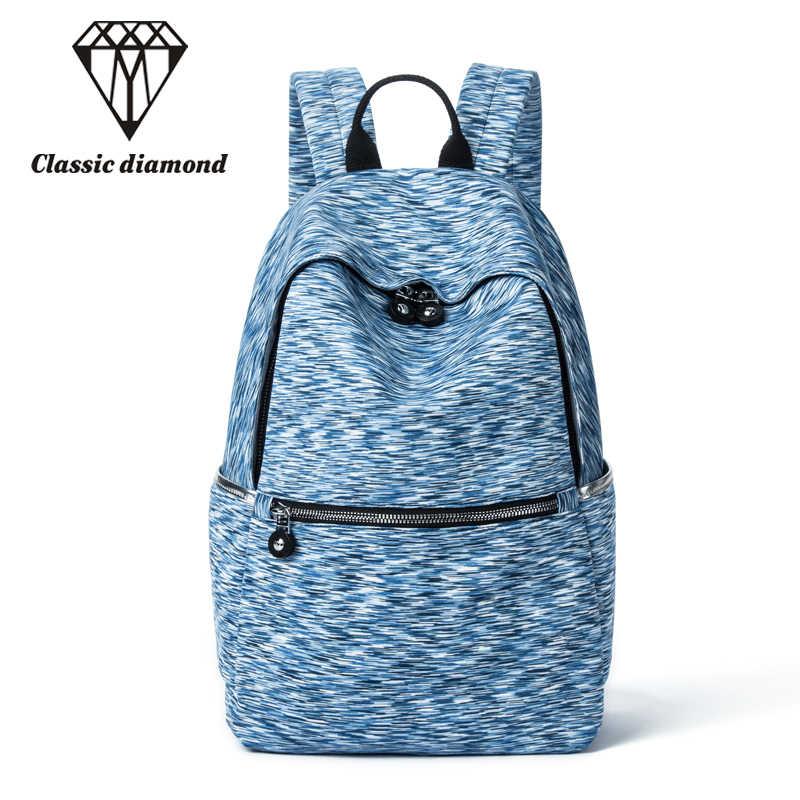 Классические повседневные Рюкзаки с бриллиантами для подростков, девочек и мальчиков, Студенческая школьная сумка, маленькая Повседневная Мягкая дорожная сумка