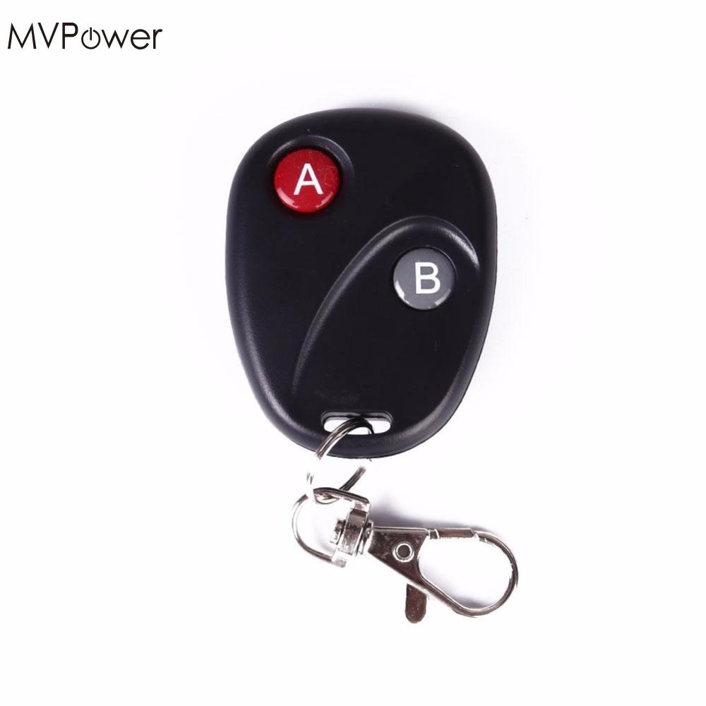MVPower DC12V 10A Portable Wireless RF Remote Control Transmitter Switch Receiver 433MHz dc12v 6ch 10a wireless rf remote control switch transmitter receiver for appliances gate garage door window lamp