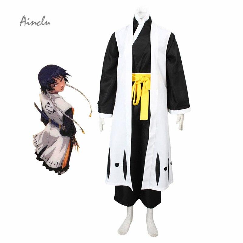 Ainclu mort intelligente Soi Fon eau de javel adulte Cosplay Costume japon Anime Cosplay Costume pour Halloween noël