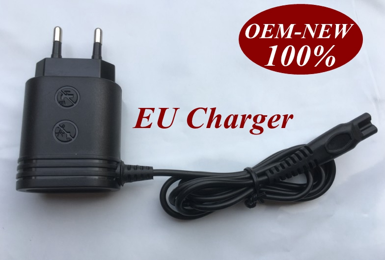 100-240V Trimmer plug USB EU Charger Adapter replace head charge for <font><b>philips</b></font> Shaver hq64 HQ7140 PT710 PT715 PT725 <font><b>PT720</b></font> HQ600 image