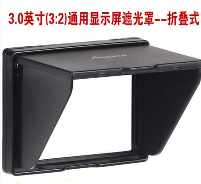 A 3 0 inch widescreen Popup shade Lcd hood for screen cover protector Canon 80D 70D