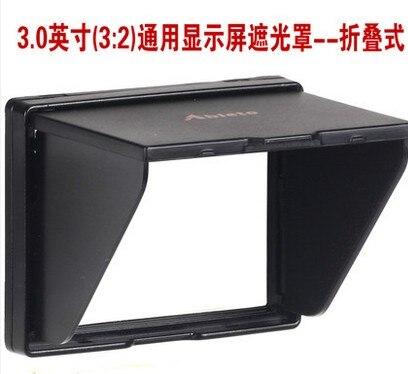 Un 3.0-pouces écran large Popup ombre Lcd capot pour le protecteur de couverture d'écran Canon 80D/70D/6D/100D/60D/60Da appareil photo Numérique A-30WII