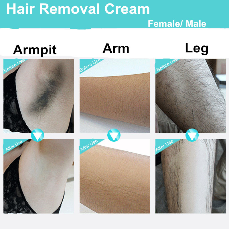Permanent Depilatory Cream Hair Remover Armpit Body Hand