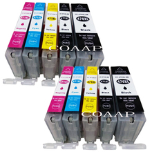 Get more info on the 10pk New Canon PGI 470 CLI 471 Compatible ink cartridges for CANON PIXMA MG 5740 8640 / TS 5040 6040 inkjet Printer