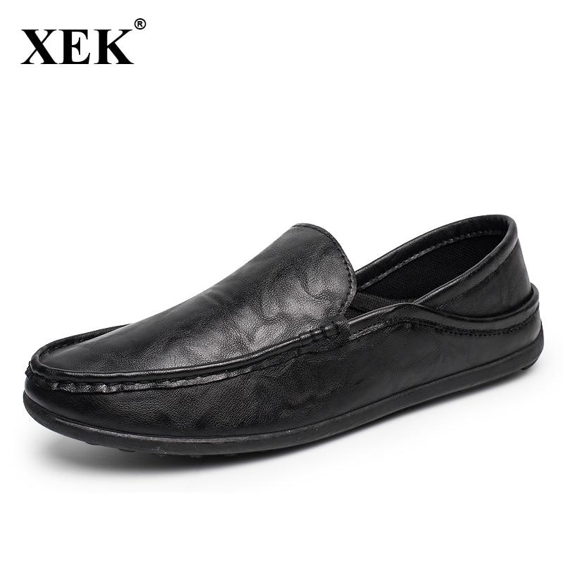 Hombres Holgazanes hombres Casual shoes resbalón de Moda Cómoda zapatos de Condu