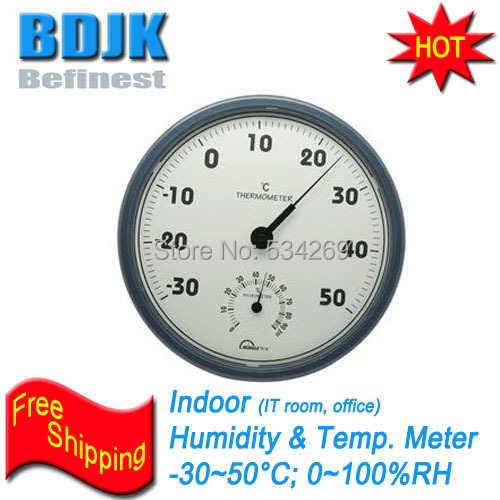 Indoor Hygrometer and Thermometer to Measuring Room Humidity and Temperature Instrument