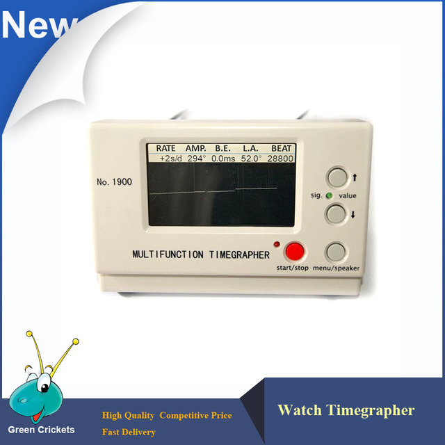 High Quality No.1900 Timegrapher,Multi Function Machine Watch Timing Tester for Machine Watch repairers and watch makers
