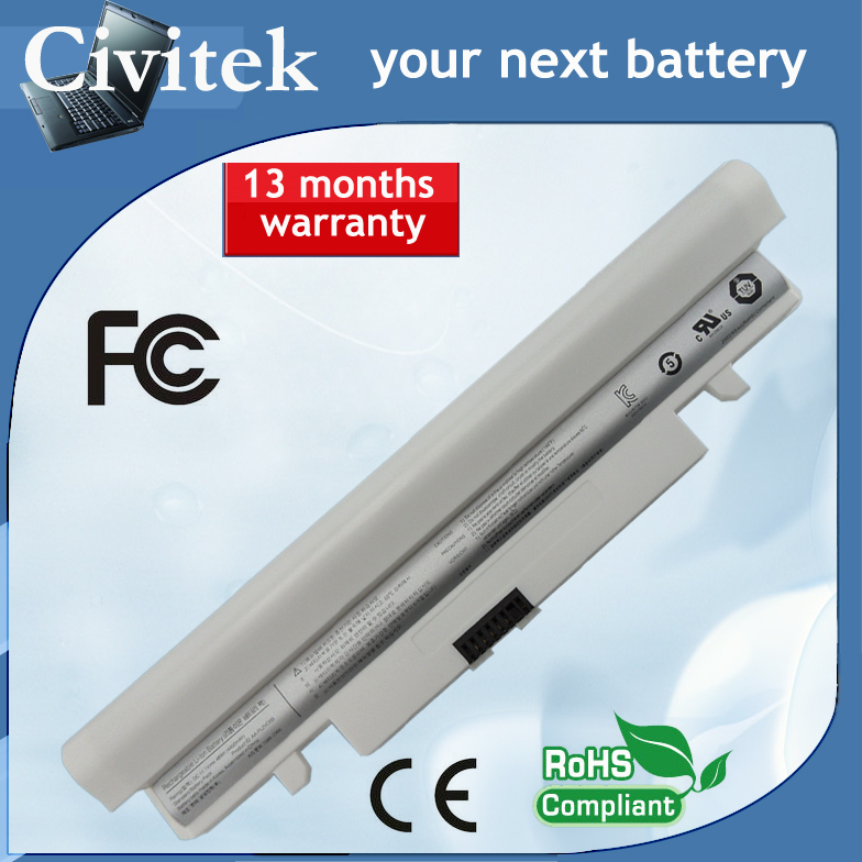 laptop <font><b>battery</b></font> for <font><b>SAMSUNG</b></font> N148 <font><b>N150</b></font> NT-150 NT-148 N148-DA03 NP-<font><b>N150</b></font>-HAV1US NP-<font><b>N150</b></font>-JA03US NEW OEM White image