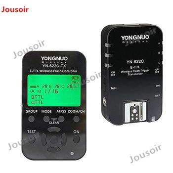 Yongnuo TTL YN622C-TX + 2pcs YN-622C HSS 1/8000 flash trigger for C CD50