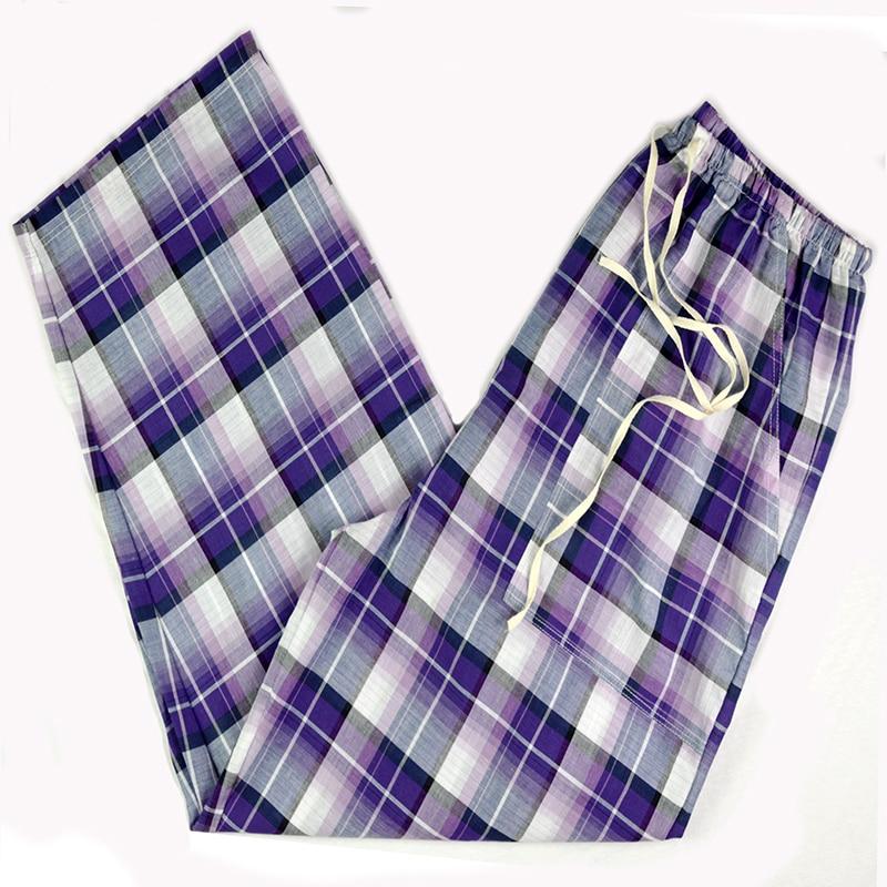 Super Soft Loose Pants 100% Cotton Plaid Spring Summer Womens Sleep bottoms,Pajamas Bottoms,Sleepwear Pants,Women pyjamas Pants ...