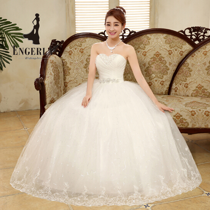 lamya new style sexy wedding dress lace up sweetheart bride gown pleat top design princess party dress