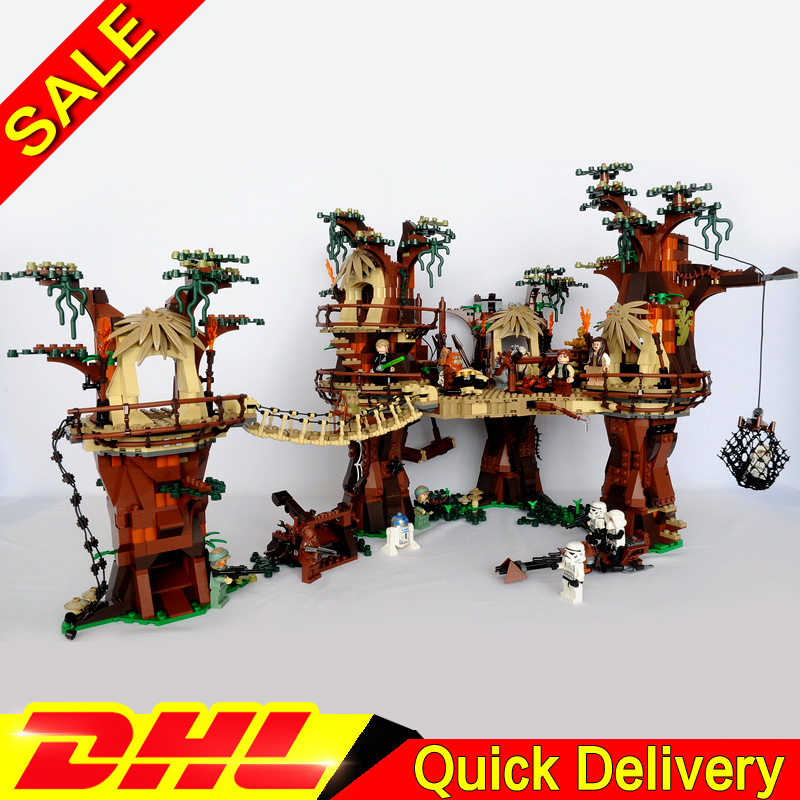 Toys Bricks-Set Blocks Model Building-Kits Clone 10236 Ewok Village Lp 05047 Children title=