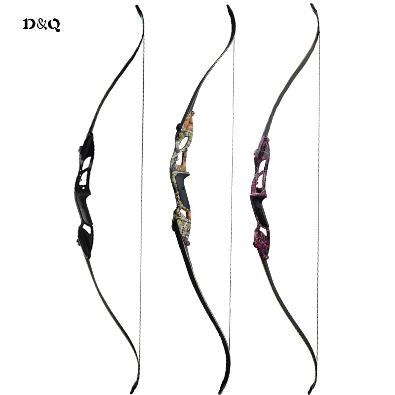 56'' 30-50 lbs Archery Hunting Recurve Take Down Bow for Adult Hunter Outdoor Shooting Practice Sport Slingshot Longbow 3 Colors 54 inch recurve bow american hunting bow 30 50 lbs for archery outdoor sport hunting practice